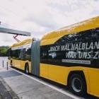 Solaris Urbino 18 electric: Berliner Verkehrsbetriebe mit elektrischen Gelenkbussen