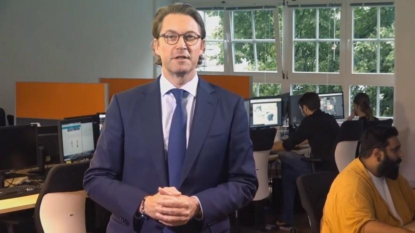 Andreas Scheuer bei Yager Development