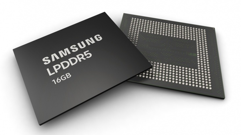 LPDDR5-Speicher als 16-GByte-Package