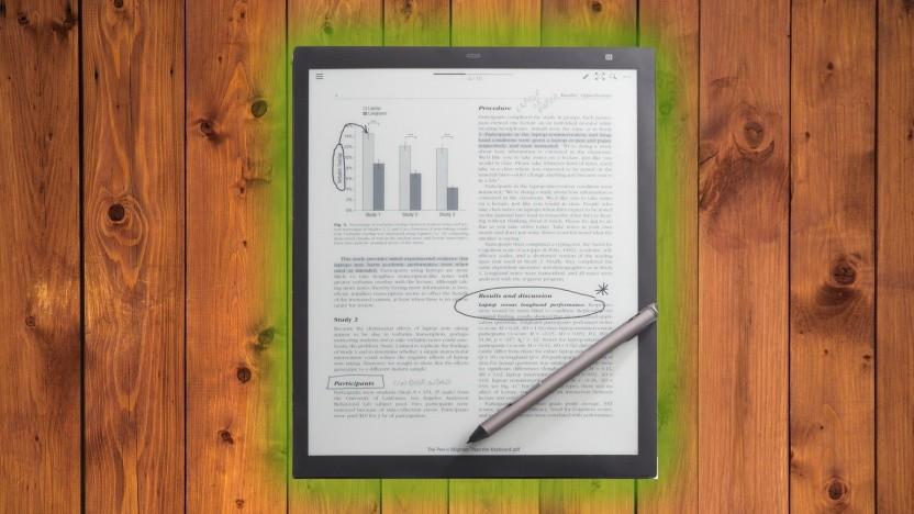 Das Digital Paper Tablet soll zum Bearbeiten und Lesen digitaler Dokumente dienen.