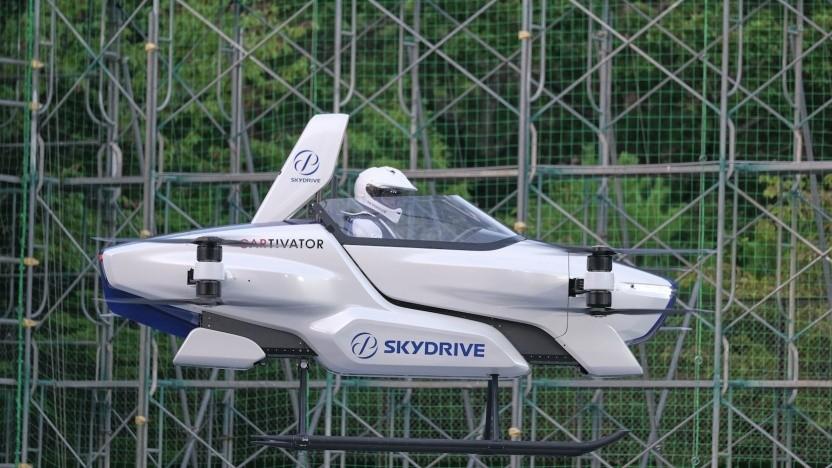 Fluggerät SD-03 von Skydrive: 2023 serienreif