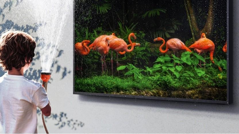 Wasser marsch: The Terrace von Samsung