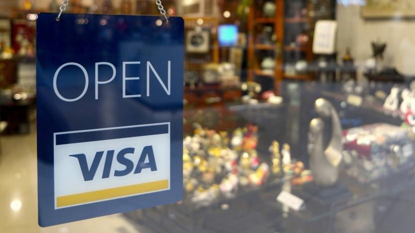 Dieser Laden ist geöffnet, ein Problem bei Visa-Karten auch.