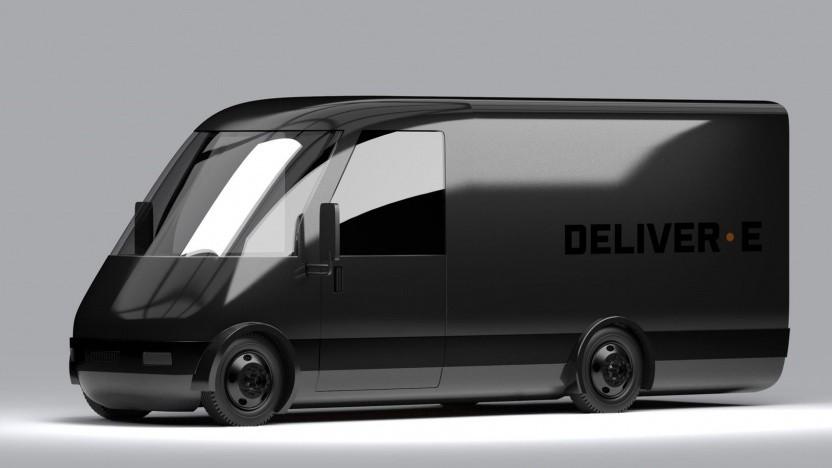 Bollinger Deliver-E: fünf Akkuvarianten