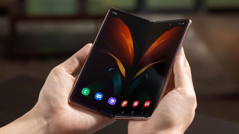 Das Galaxy Z Fold 2 von Samsung