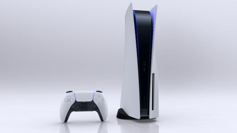 Artwork der Playstation 5