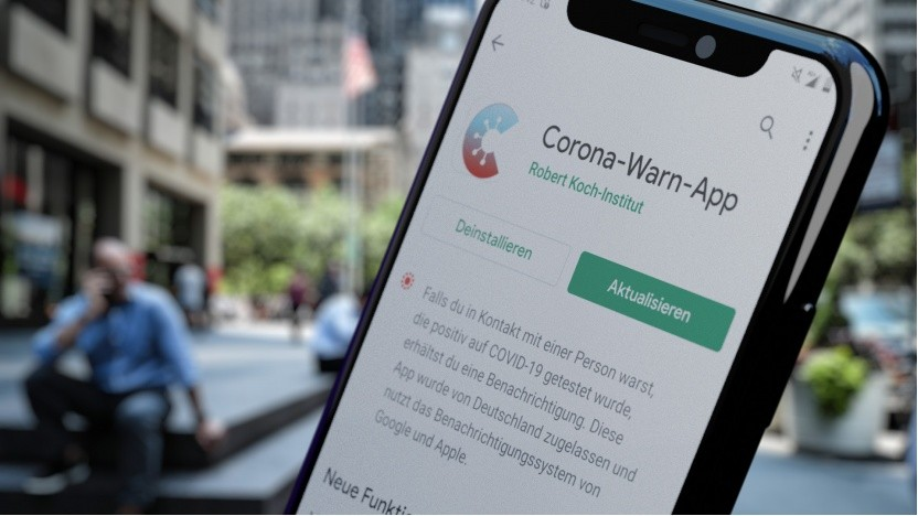 Die deutsche Corona-Warn-App richtet zumindest keinen Schaden an.
