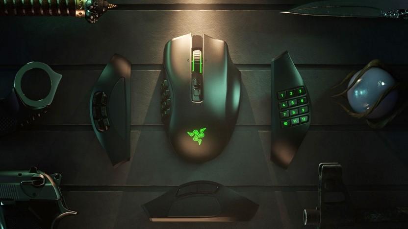 Die Naga Pro kann angepasst werden.