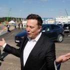 Grünheide: Musk besucht erstmals Baustelle für Gigafactory