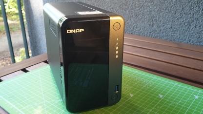 Qnap TS-253D im Test: Viel mehr als ein schwarzer Klotz mit zwei Laufwerken - Golem.de