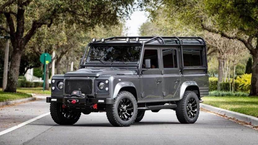 Elektrischer Land Rover: Kultstatus in den USA