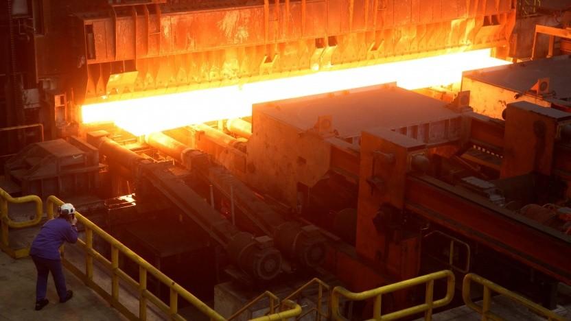 Die Stahlherstellung ist derzeit ein großer Verursacher von CO2-Emissionen.