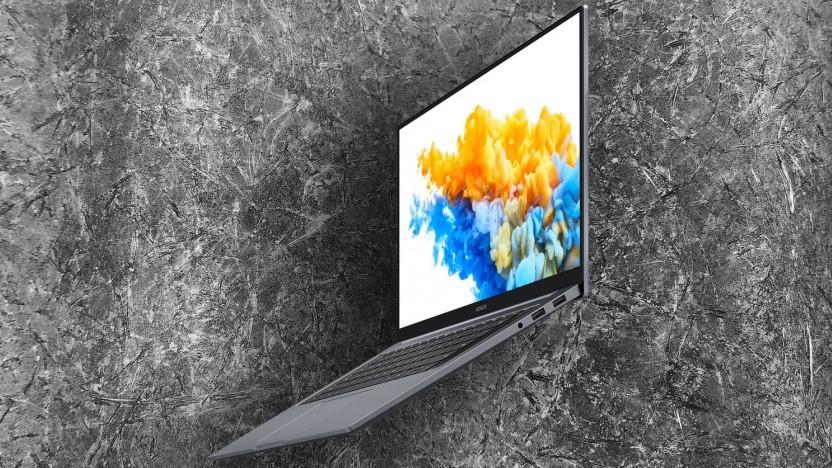 Das Magicbook Pro sieht aus wie ein Macbook.