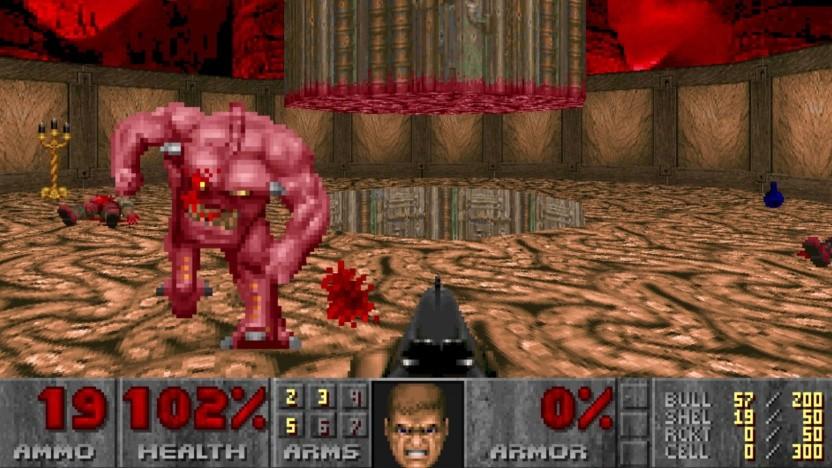 Szene aus Doom