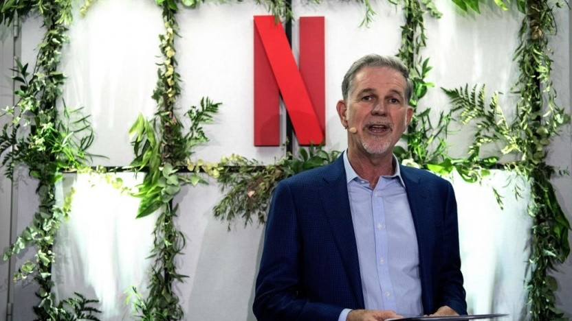 Netflix-Co-Chef Reed Hastings