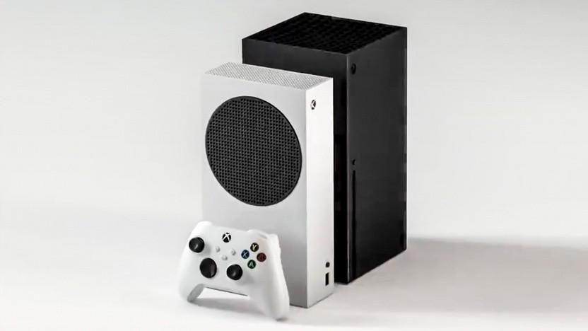 Artwork von Xbox Series S und X
