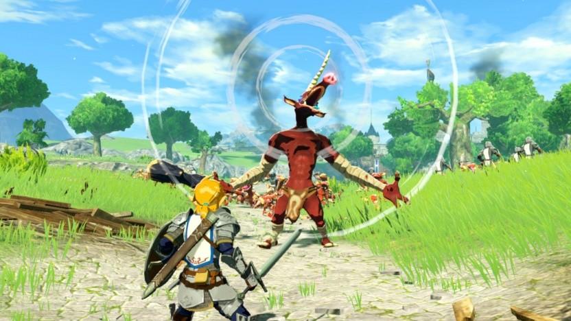 Hyrule Warriors Nintendo Kundigt Zeit Der Verheerung Fur Die Switch An Golem De