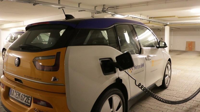 Der Anspruch auf Lademöglichkeiten für Elektroautos in Tiefgaragen soll kommen.
