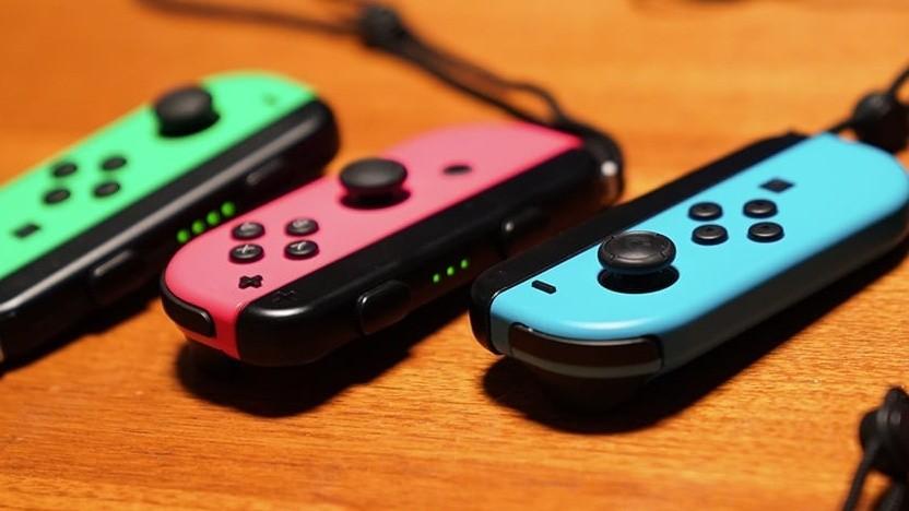 Eingabegerät der Nintendo Switch