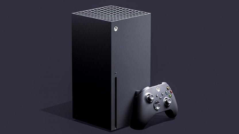 Artwork der Xbox Series X