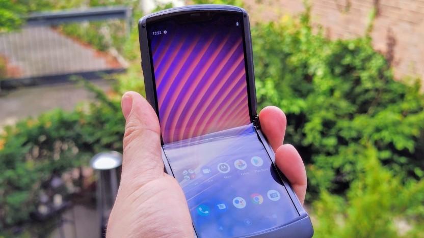 Das Razr 5G von Motorola