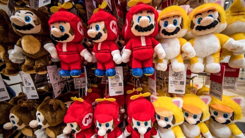 Plüsch-Mario in Japan