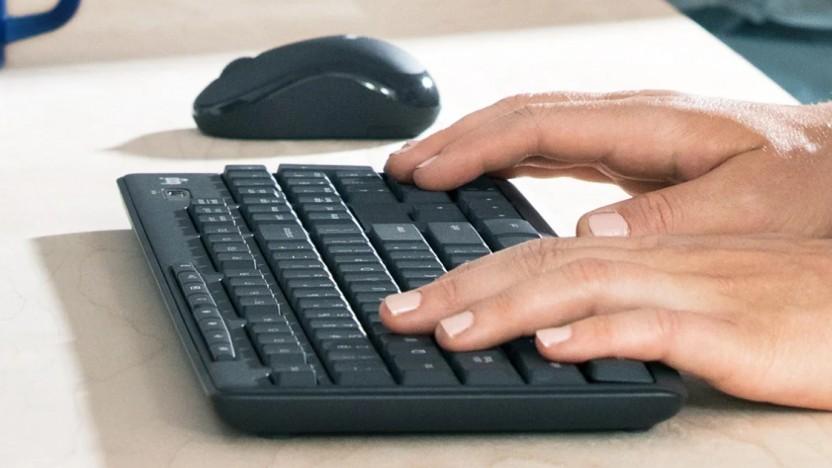 Das MK295-Set besteht aus kabelloser Maus und Tastatur.