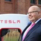 Supercharger eröffnet: Altmaier lobt Tesla für neue Investitionen