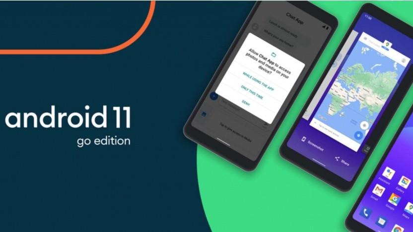 Android 11 erscheint auch in einer Go-Edition.