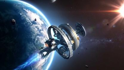 A Game of Space: Weltraumspiel Agos schickt Spieler durch die VR-Galaxie - Golem.de