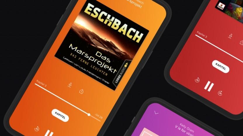 Deezer startet mit spezieller Hörbuch-App.