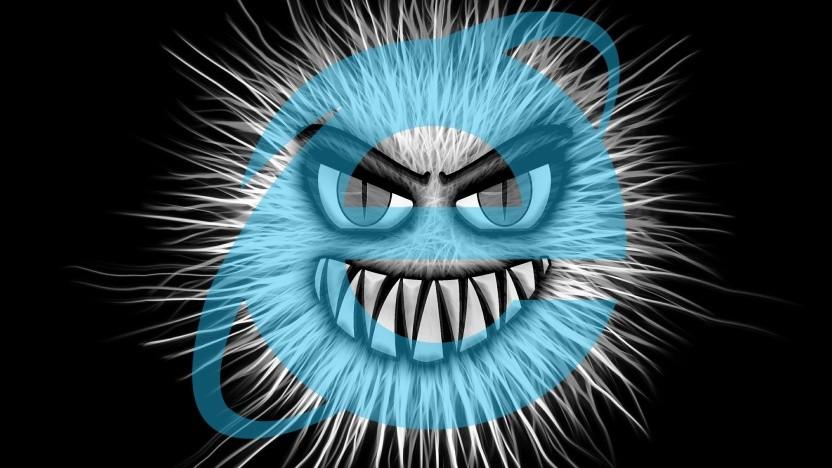 Der Internet Explorer ist für Malware anfällig.
