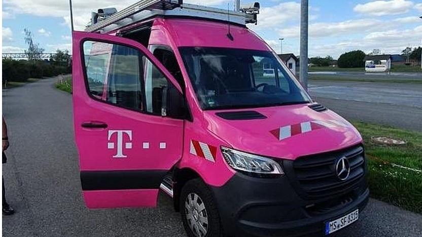 Planungswagen der Deutschen Telekom