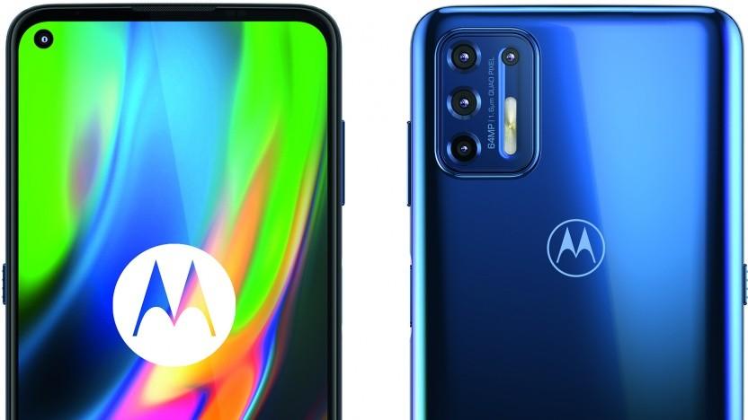 Das Moto G9 Plus von Motorola