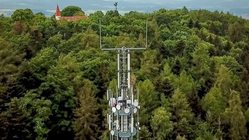 Die Telekom-Antenne am Lamberg wird bald auch 5G beherrschen.