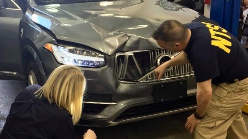 Mit diesem Testauto von Volvo ereignete sich der tödliche Unfall in Arizona.