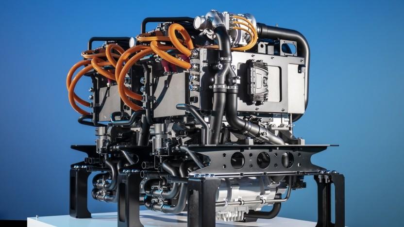 Brennstoffzellenaggregat für den Mercedes-Benz GenH2 Truck