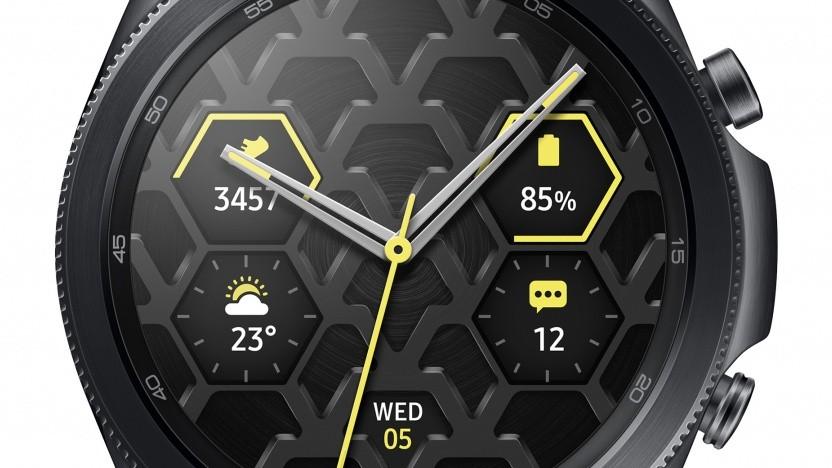 Die Galaxy Watch 3 aus Titan