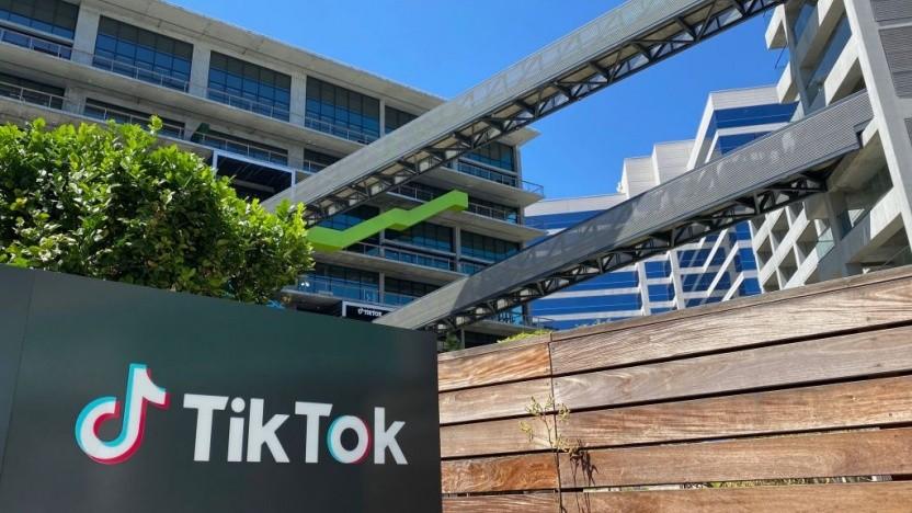 Die Tiktok-App soll in den USA nicht mehr gepflegt werden dürfen.
