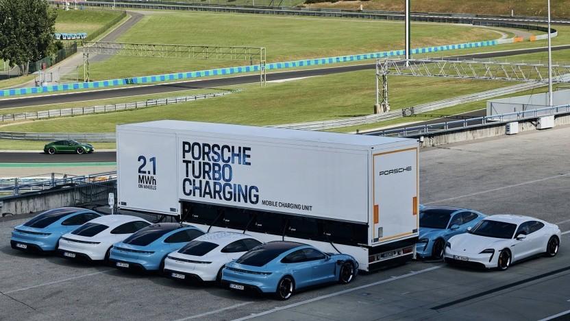 Porsches Akku-Truck