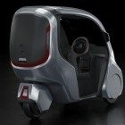 Hopper: Dreirad mit Dach soll Autos aus der Stadt verdrängen