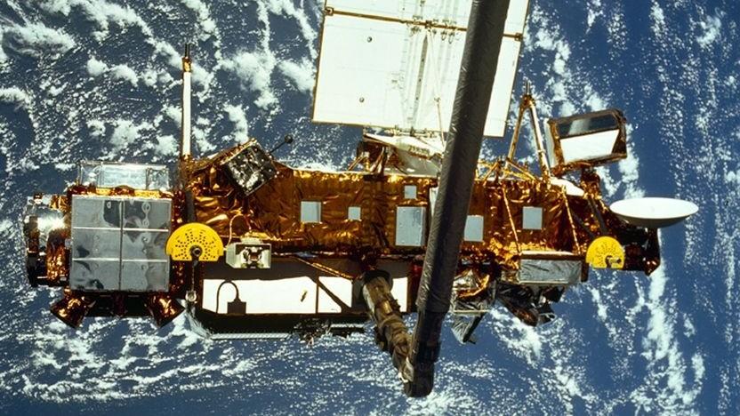 Satellit im Orbit (Symbolbild): Satelliten und Weltraumschrott beobachten