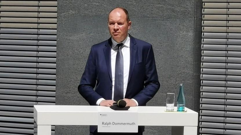Ralph Dommermuth, Vorstandsvorsitzender United Internet, beim 2. Mobilfunkgipfel in Berlin