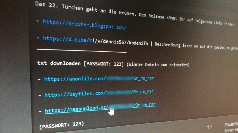 Der Hacker 0rbit hatte die Daten von Politikern im Netz veröffentlicht.