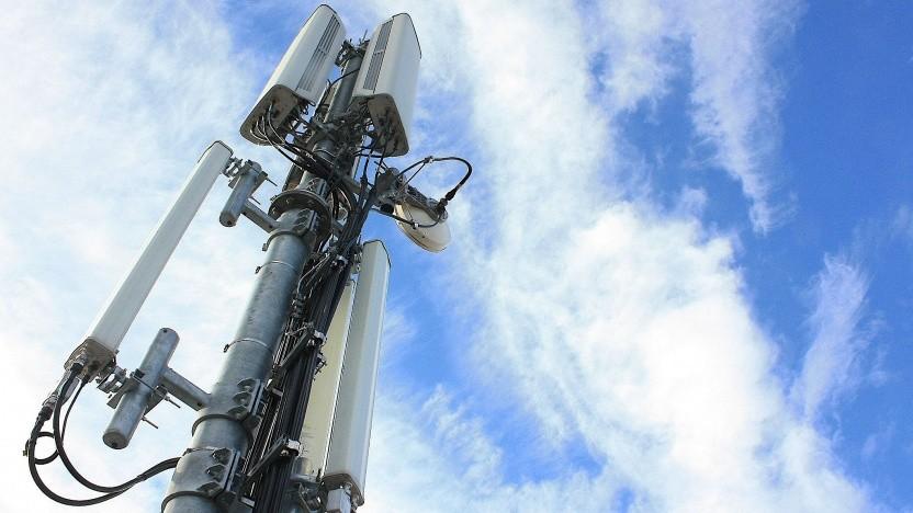 Antennenstandort von Telefónica