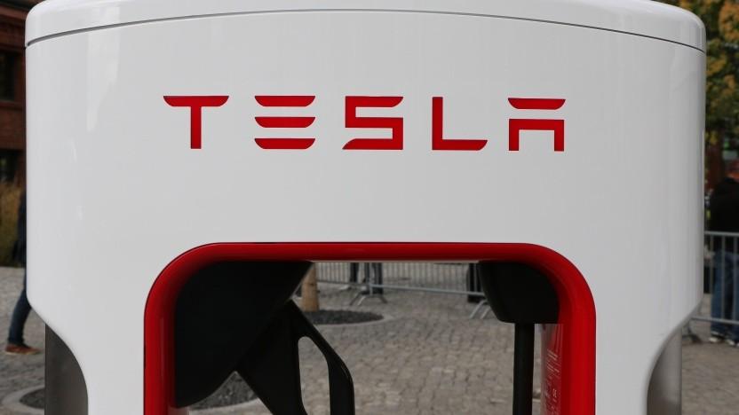 Neuer Supercharger von Tesla