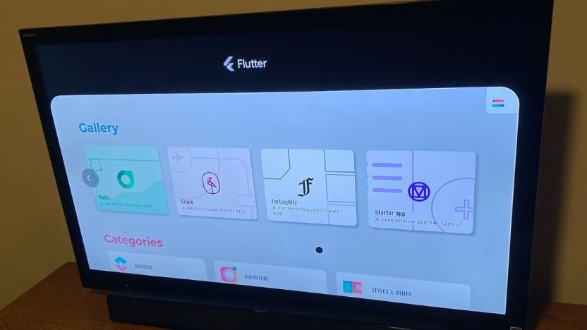 Flutter läuft sogar auf der Xbox.