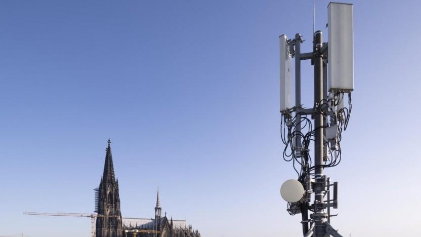 5G von Telefónica Deutschland in Köln