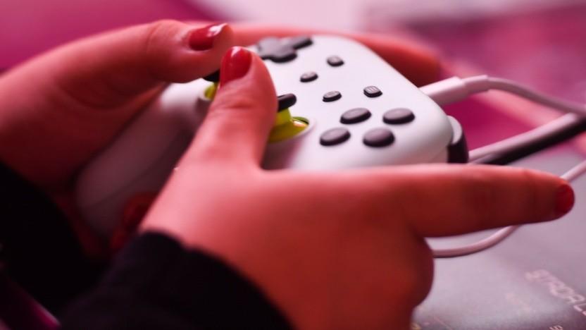 Gamepad auf der Gamescom 2019