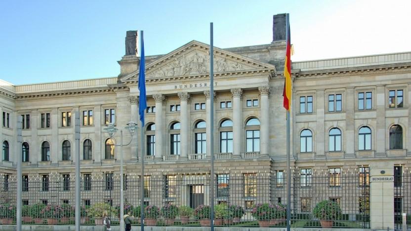 Das Gebäude des Bundesrats in Berlin